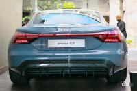 ブランドの新しいアイコンとなるEVのアウディe-tron GTは今秋に導入予定。車両本体価格1399万円から【アウディ e-tron GT発表・新車】 - audie-trongt_newcar_006