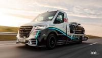 まるでF1仕様!? 超イケてるメルセデスのレッカー車「スプリンター ペトロナス」世界初公開 - mercedes-sprinter-tow-truck-by-kegger-exterior-4