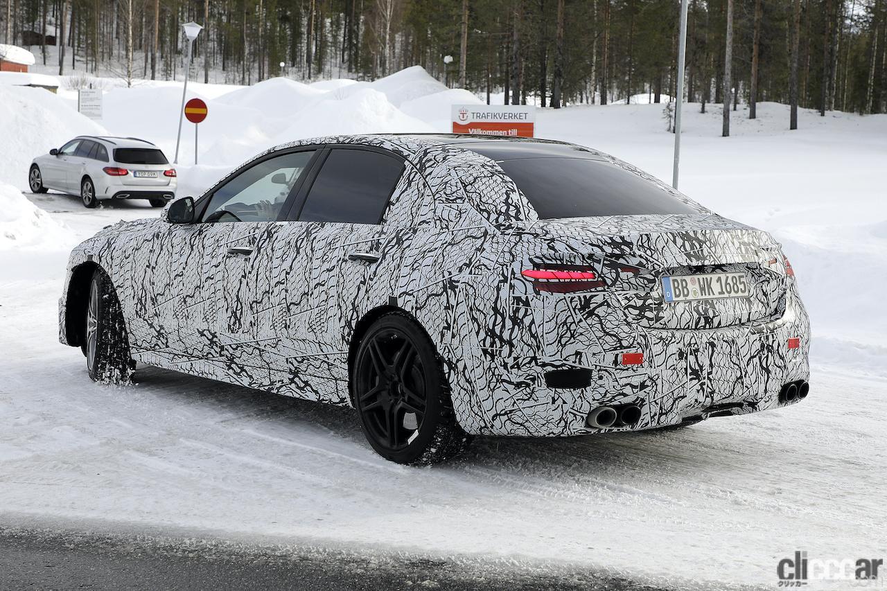 「メルセデスAMG C43、新型モデルは電動化で最大416馬力に向上!」の9枚目の画像