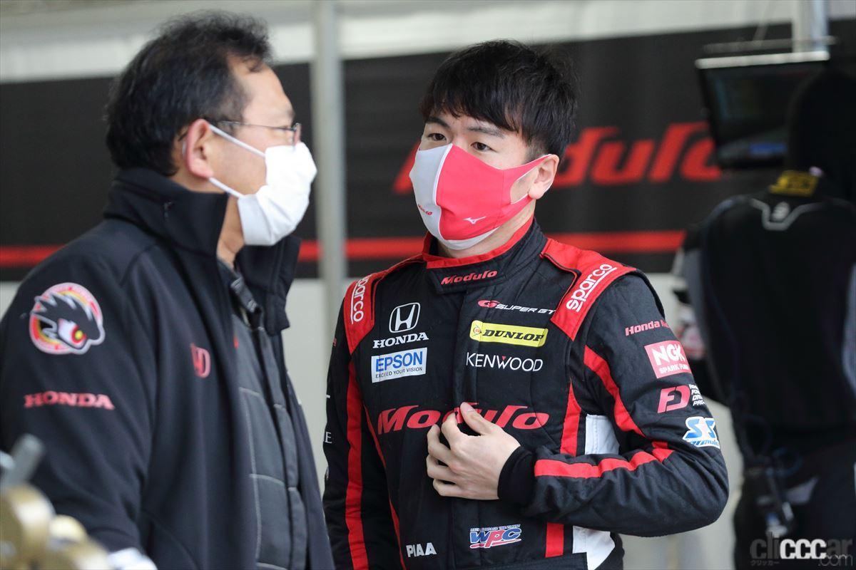 SUPER GTでの大津弘樹選手