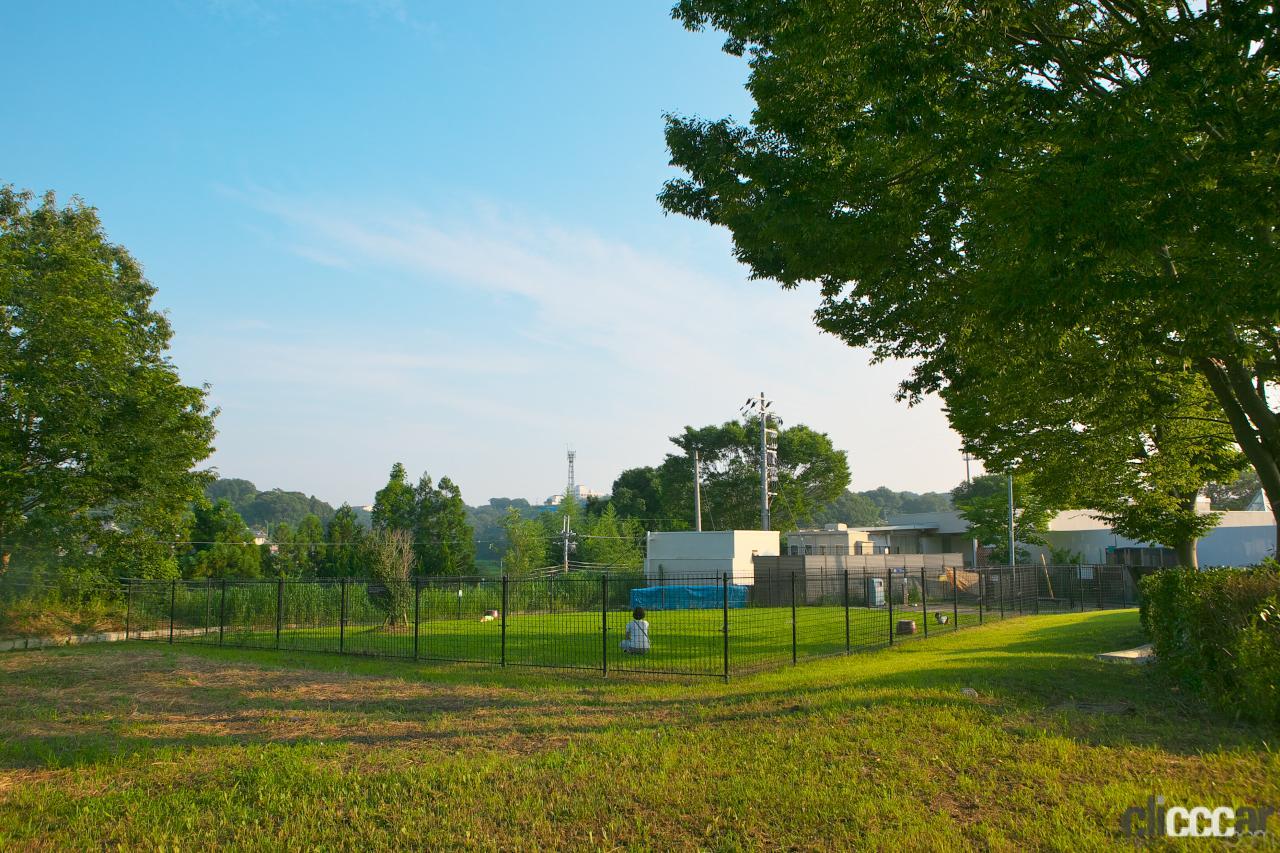 「中国自動車道・社PA(下り)は緑の絨毯が引き詰められたワンちゃんファーストの施設が魅力【全国高速道路SAドッグラン探訪】」の4枚目の画像