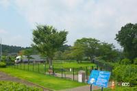 中国自動車道・勝央SA(上り)は人工芝と見間違えるほど手入れの行き届いた緑の絨毯は圧巻!【全国高速道路SAドッグラン探訪】 - sa_dogrun_005