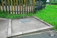 東海北陸自動車道・長良川SA(下り)はドッグランの周りにも緑の芝生が広がる公園のような空間【全国高速道路SAドッグラン探訪】 - sa_dogrun_006
