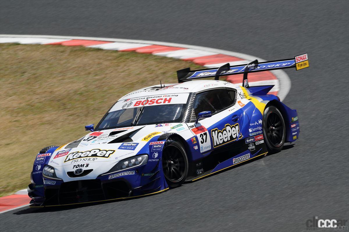 「KeePer TOM'S GR Supraの坂口晴南が全予選トップタイムでGT500初ポールポジション!【SUPER GT 2021】」の3枚目の画像