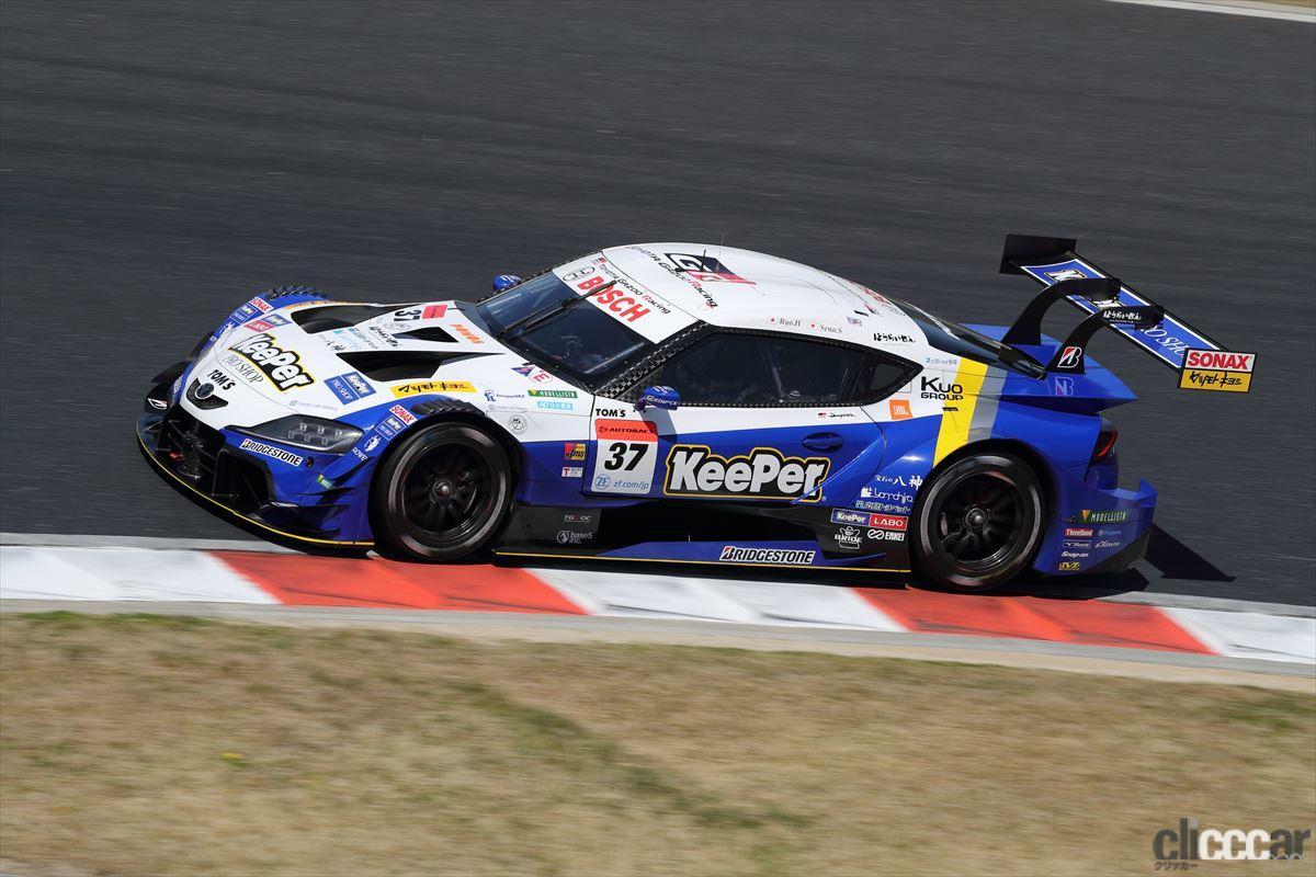 「KeePer TOM'S GR Supraの坂口晴南が全予選トップタイムでGT500初ポールポジション!【SUPER GT 2021】」の4枚目の画像