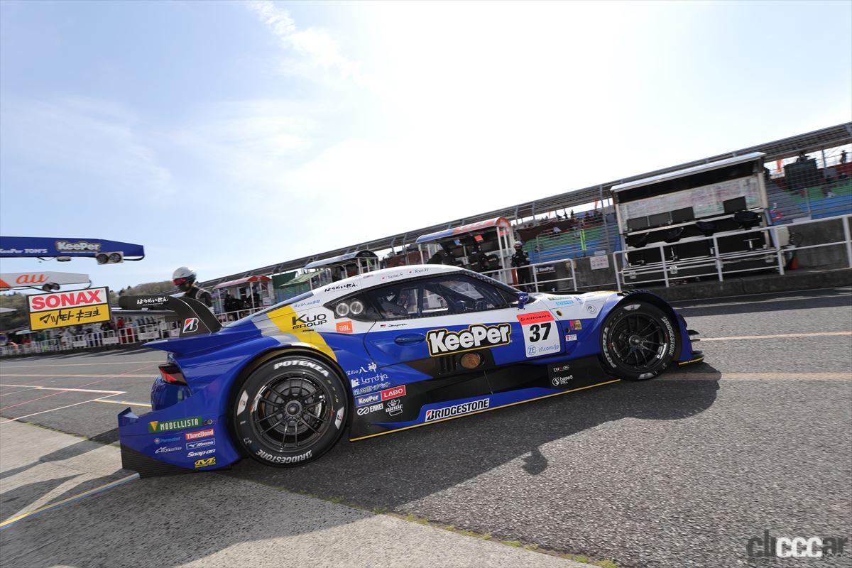 「KeePer TOM'S GR Supraの坂口晴南が全予選トップタイムでGT500初ポールポジション!【SUPER GT 2021】」の6枚目の画像