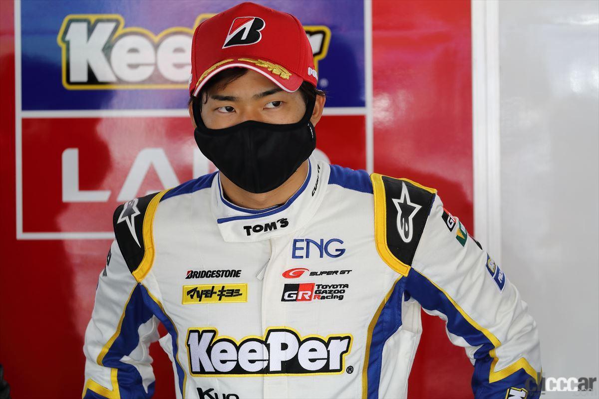 「KeePer TOM'S GR Supraの坂口晴南が全予選トップタイムでGT500初ポールポジション!【SUPER GT 2021】」の7枚目の画像