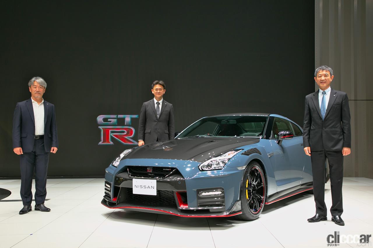これが最終型か? 日産GT-R NISMO 2022年モデル先行公開