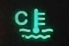 低水温表示灯
