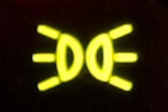テールランプ表示灯