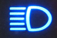 ハイビーム表示灯