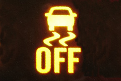 横滑り防止装置OFF表示灯