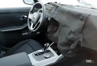 BMW 3シリーズが大幅改良へ! 車内には巨大湾曲ディスプレイ搭載か!? - BMW 3 facelift 1
