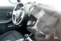 BMW 3シリーズが大幅改良へ! 車内には巨大湾曲ディスプレイ搭載か!? - BMW 3 facelift 2