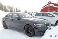 BMW 3シリーズが大幅改良へ! 車内には巨大湾曲ディスプレイ搭載か!? - BMW 3 facelift 4