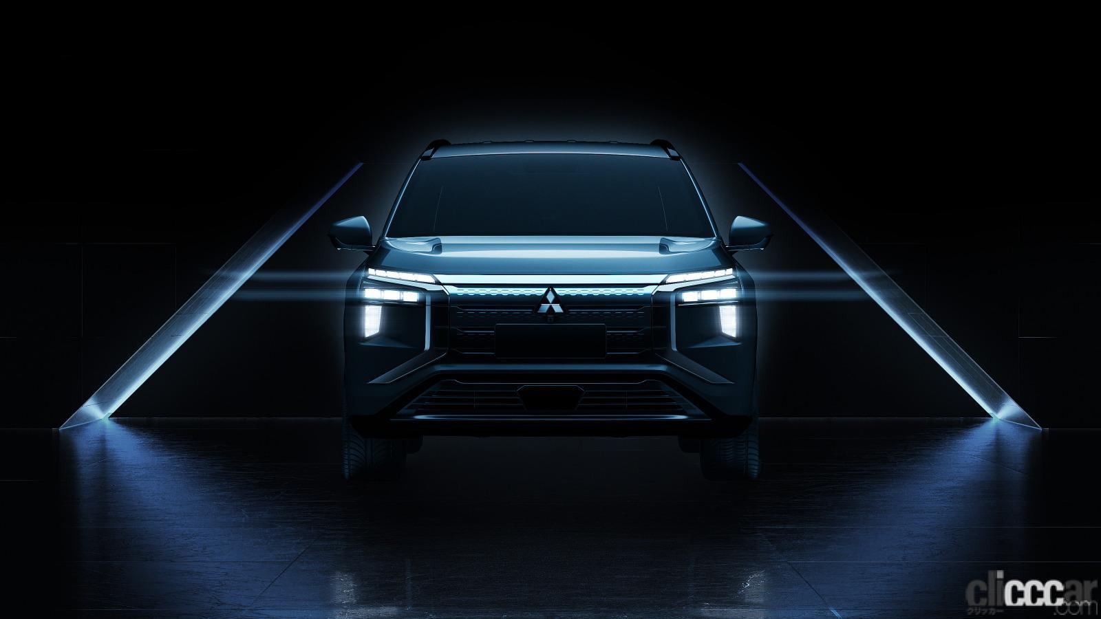 三菱自動車が新型SUV・EVの「エアトレック」のデザインを公開