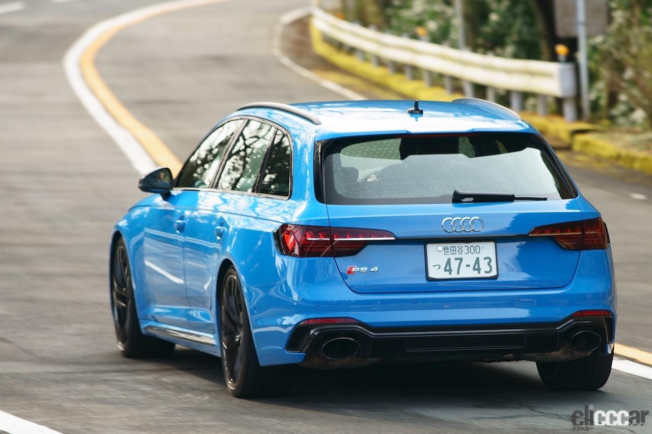 「0-100km/h加速を4.1秒でクリアする俊足ワゴンのアウディ RS 4 アバントは、快適な乗り味も魅力!!」の9枚目の画像