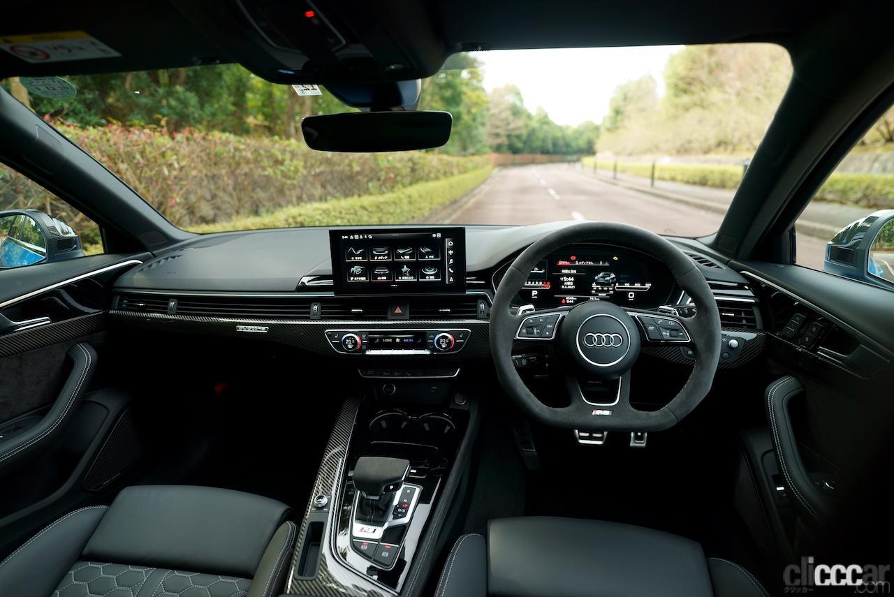 「0-100km/h加速を4.1秒でクリアする俊足ワゴンのアウディ RS 4 アバントは、快適な乗り味も魅力!!」の7枚目の画像