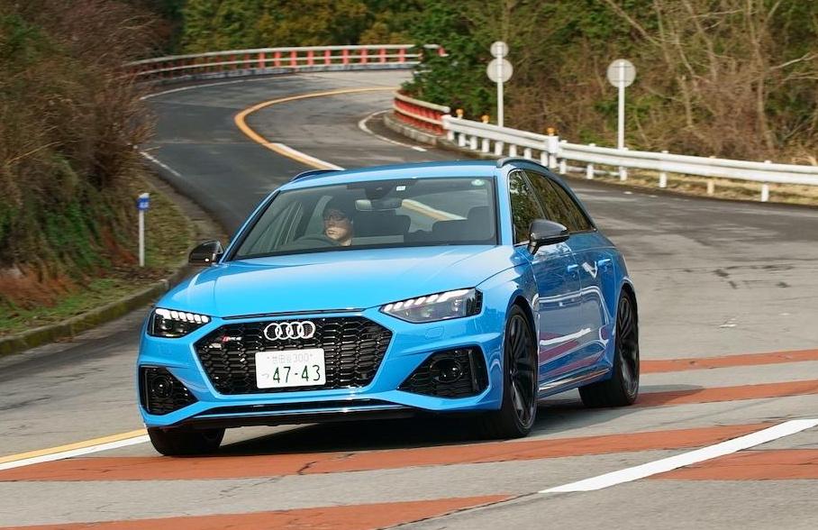 「0-100km/h加速を4.1秒でクリアする俊足ワゴンのアウディ RS 4 アバントは、快適な乗り味も魅力!!」の5枚目の画像