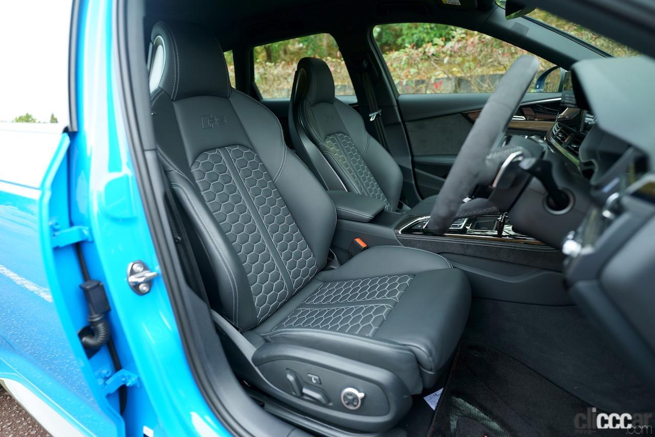 「0-100km/h加速を4.1秒でクリアする俊足ワゴンのアウディ RS 4 アバントは、快適な乗り味も魅力!!」の4枚目の画像
