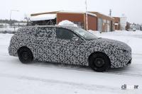 新型プジョー・308にステーションワゴン確定! オール電化モデルをラインアップ - Spy shot of secretly tested future car