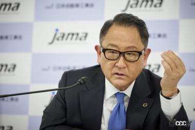 自工会会長・豊田章男氏