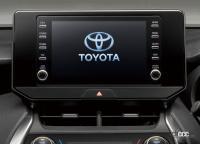 スズキ、SUBARU、ダイハツ、トヨタ、マツダの5社が次世代の車載通信機の技術仕様を共同開発へ - TOYOTA_Displayaudio_20210427