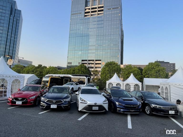 SIP-adus試乗会には、トヨタ・日産・ホンダ・SUBARUといった自動車メーカーのほか、コンチネンタルやヴァレオといったサプライヤー、そしてティアフォーのようなベンチャー、金沢大学の8団体が参加した