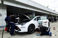 豊田章男社長の一言で始まった、トヨタがS耐で走らせる水素燃料エンジン・カローラスポーツが新時代を切り開く - orihara_stai_suiso_corolla_03