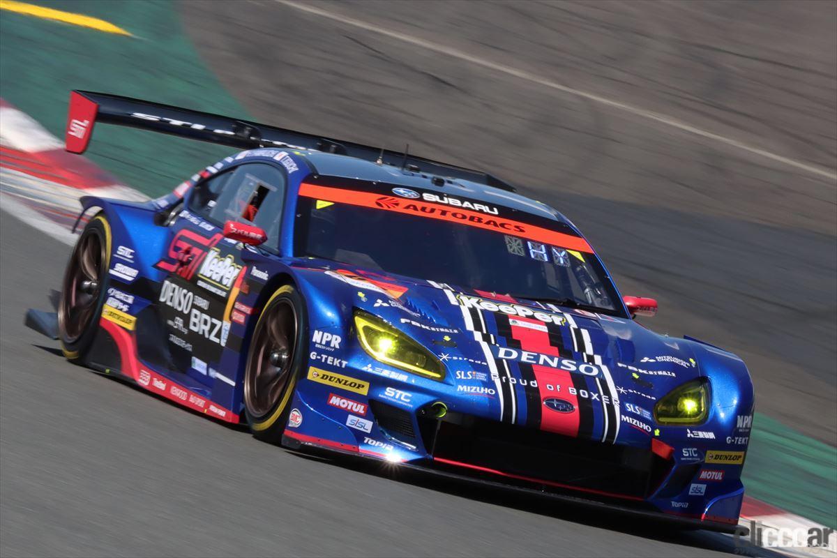 「新生SUBARU BRZ R&D SPORTが0.15秒の僅差でGT300のポール獲得【SUPER GT 2021】」の5枚目の画像