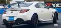 新型スバル BRZのSTIパーツ装着車が公開! スワンネック・リヤスポイラーを採用 - SUBARU_BRZ_STI