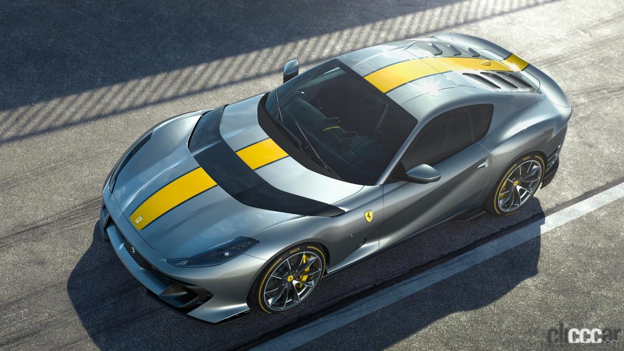 「V12エンジン搭載の新スペシャルモデル・812コンペティツィオーネを発表!価格は約6545万円から【新車発表・フェラーリ】」の12枚目の画像