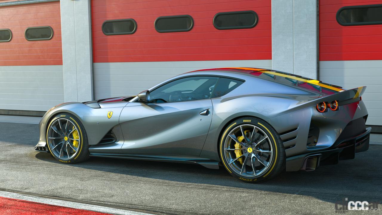 「V12エンジン搭載の新スペシャルモデル・812コンペティツィオーネを発表!価格は約6545万円から【新車発表・フェラーリ】」の11枚目の画像