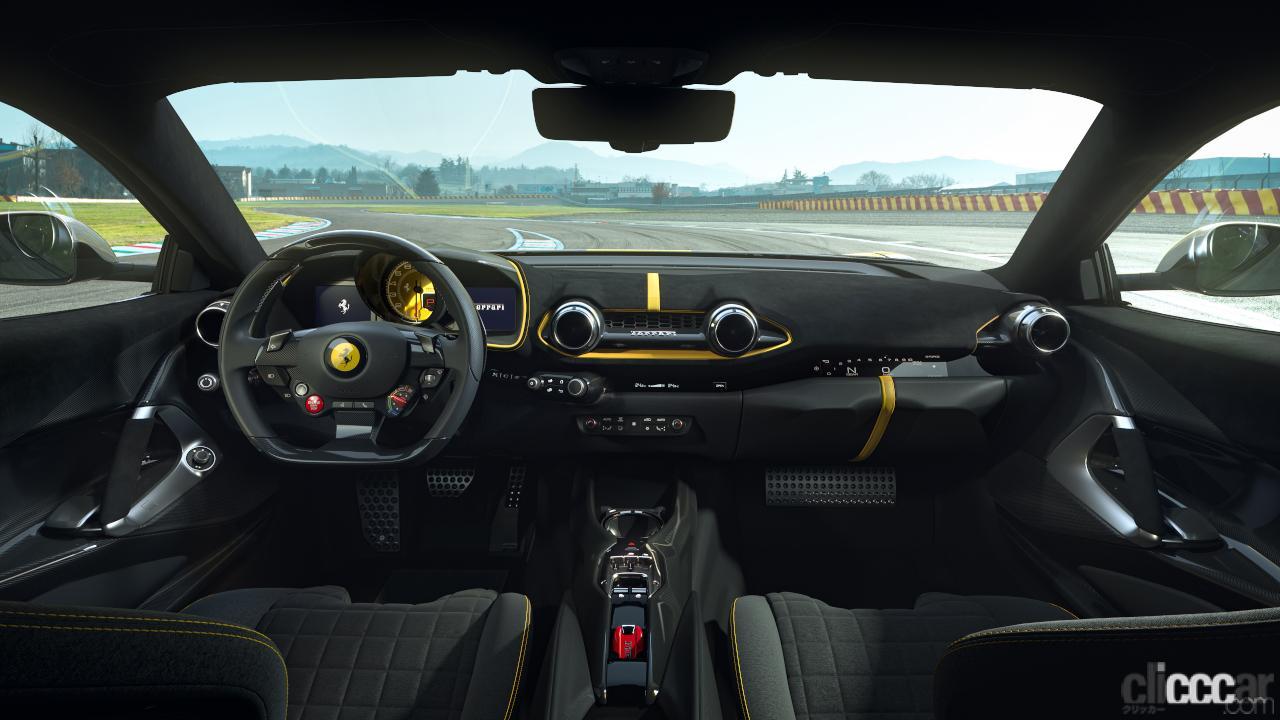 「V12エンジン搭載の新スペシャルモデル・812コンペティツィオーネを発表!価格は約6545万円から【新車発表・フェラーリ】」の10枚目の画像