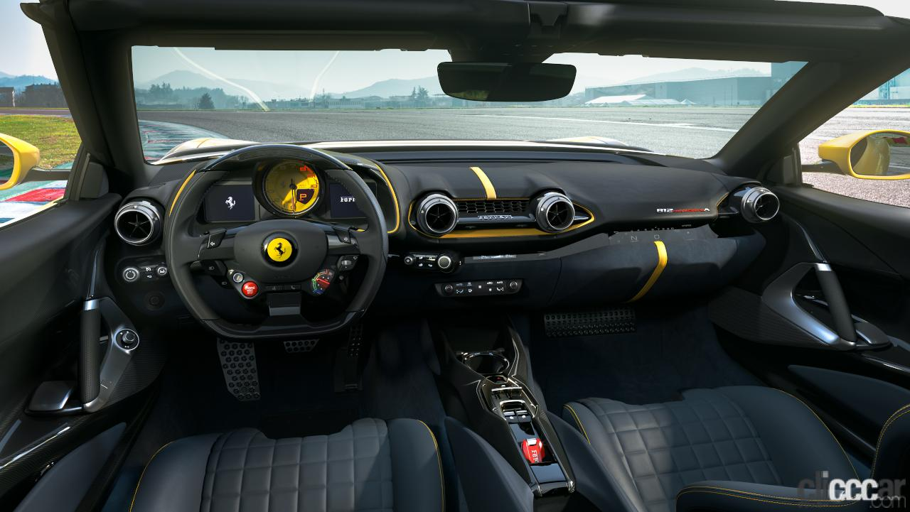 「V12エンジン搭載の新スペシャルモデル・812コンペティツィオーネを発表!価格は約6545万円から【新車発表・フェラーリ】」の6枚目の画像