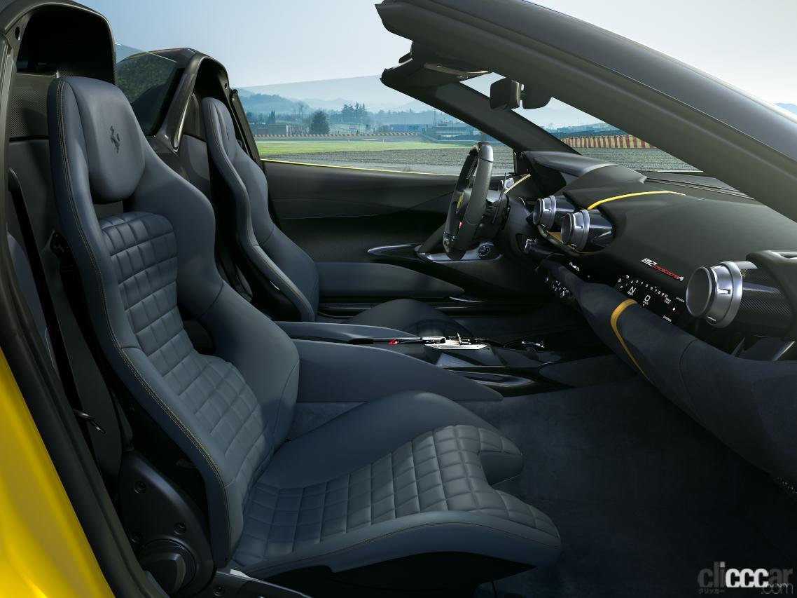 「V12エンジン搭載の新スペシャルモデル・812コンペティツィオーネを発表!価格は約6545万円から【新車発表・フェラーリ】」の5枚目の画像