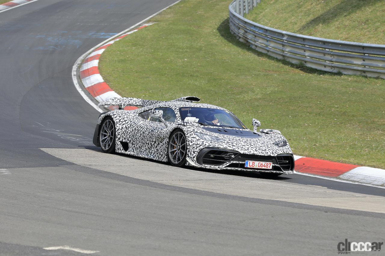 「ニュル量産車最速記録を狙うぜ! メルセデス AMG ONE市販型、グリーン・ヘルを攻めた」の5枚目の画像