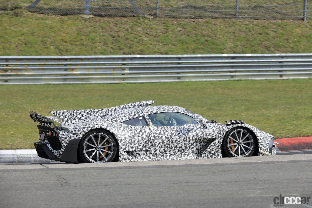 「ニュル量産車最速記録を狙うぜ! メルセデス AMG ONE市販型、グリーン・ヘルを攻めた」の9枚目の画像