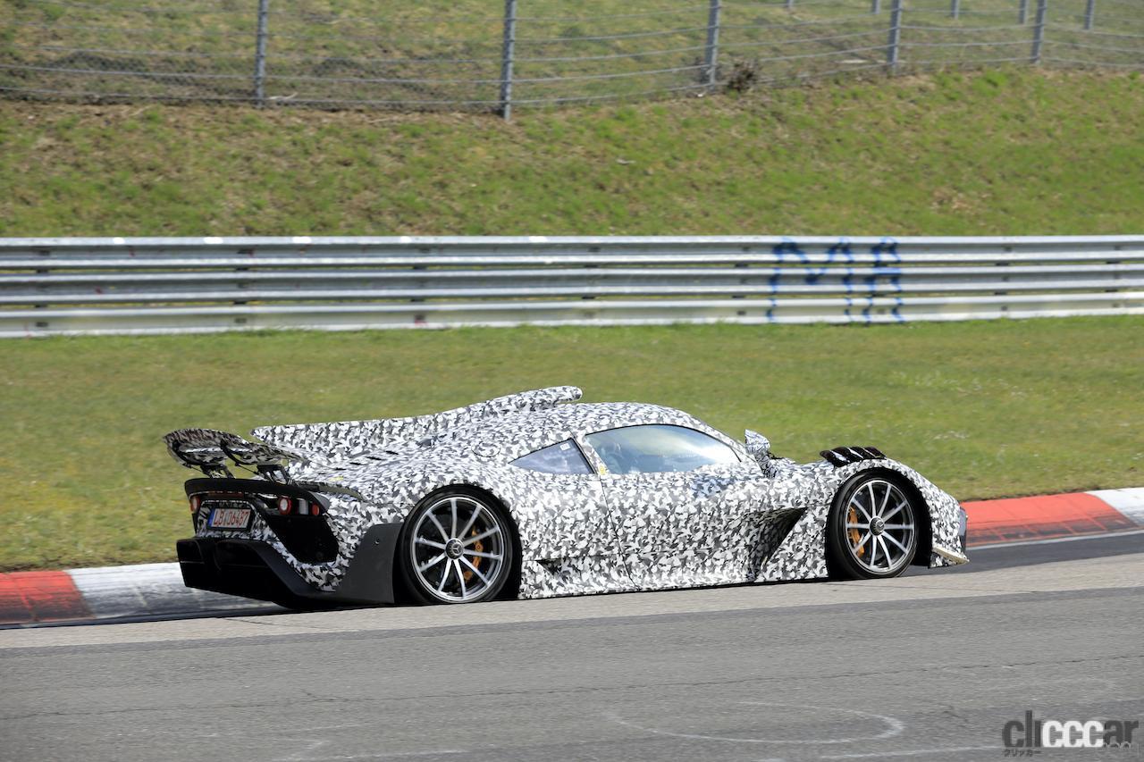 「ニュル量産車最速記録を狙うぜ! メルセデス AMG ONE市販型、グリーン・ヘルを攻めた」の10枚目の画像