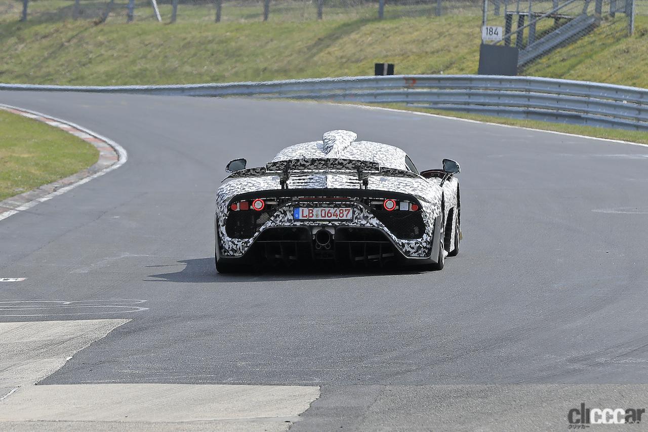 「ニュル量産車最速記録を狙うぜ! メルセデス AMG ONE市販型、グリーン・ヘルを攻めた」の13枚目の画像