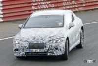メルセデス・ベンツ Eクラス、EVモデルのプロトタイプがニュルで初の高速テスト - Mercedes EQE Ring 2