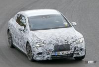 メルセデス・ベンツ Eクラス、EVモデルのプロトタイプがニュルで初の高速テスト - Mercedes EQE Ring 3