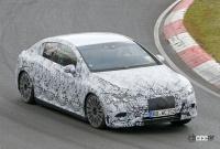 メルセデス・ベンツ Eクラス、EVモデルのプロトタイプがニュルで初の高速テスト - Mercedes EQE Ring 4