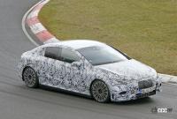 メルセデス・ベンツ Eクラス、EVモデルのプロトタイプがニュルで初の高速テスト - Mercedes EQE Ring 6