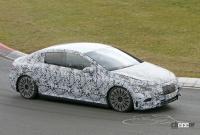 メルセデス・ベンツ Eクラス、EVモデルのプロトタイプがニュルで初の高速テスト - Mercedes EQE Ring 7