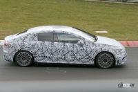 メルセデス・ベンツ Eクラス、EVモデルのプロトタイプがニュルで初の高速テスト - Mercedes EQE Ring 9