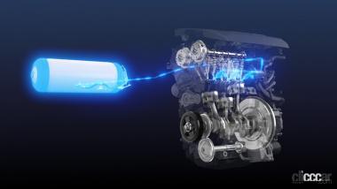 トヨタ水素エンジン