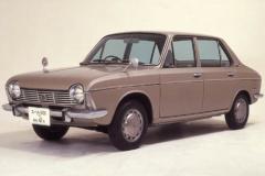 1966年発売のスバル1000_4ドアセダン