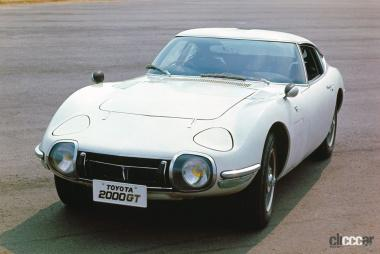 1967年発売のトヨタ2000GT