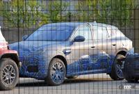 車内もチラっ! マセラティ新型コンパクトSUV「グレカーレ」、市販型を鮮明にキャッチ! - Maserati Grecale 1